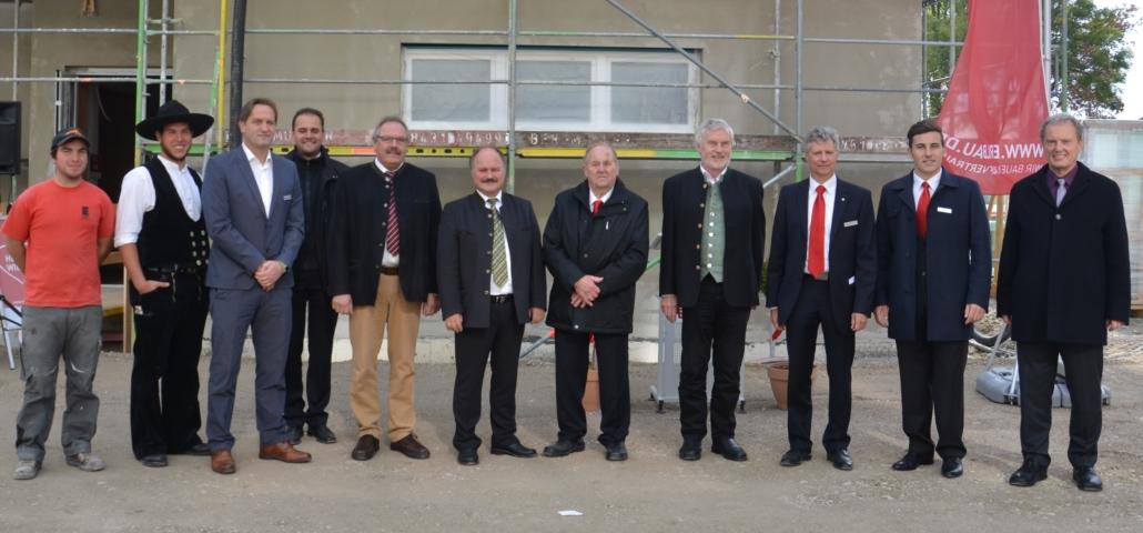Richtfest Pflege Baar-Ebenhausen