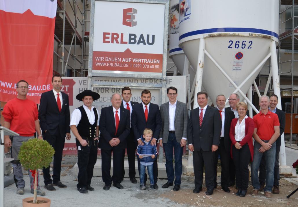 Richtfest für das Betreute Wohnen in Deggendorf